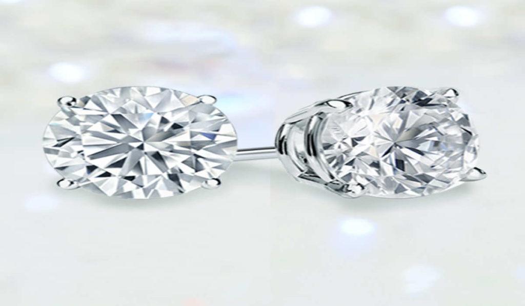 cost of small diamond stud earrings