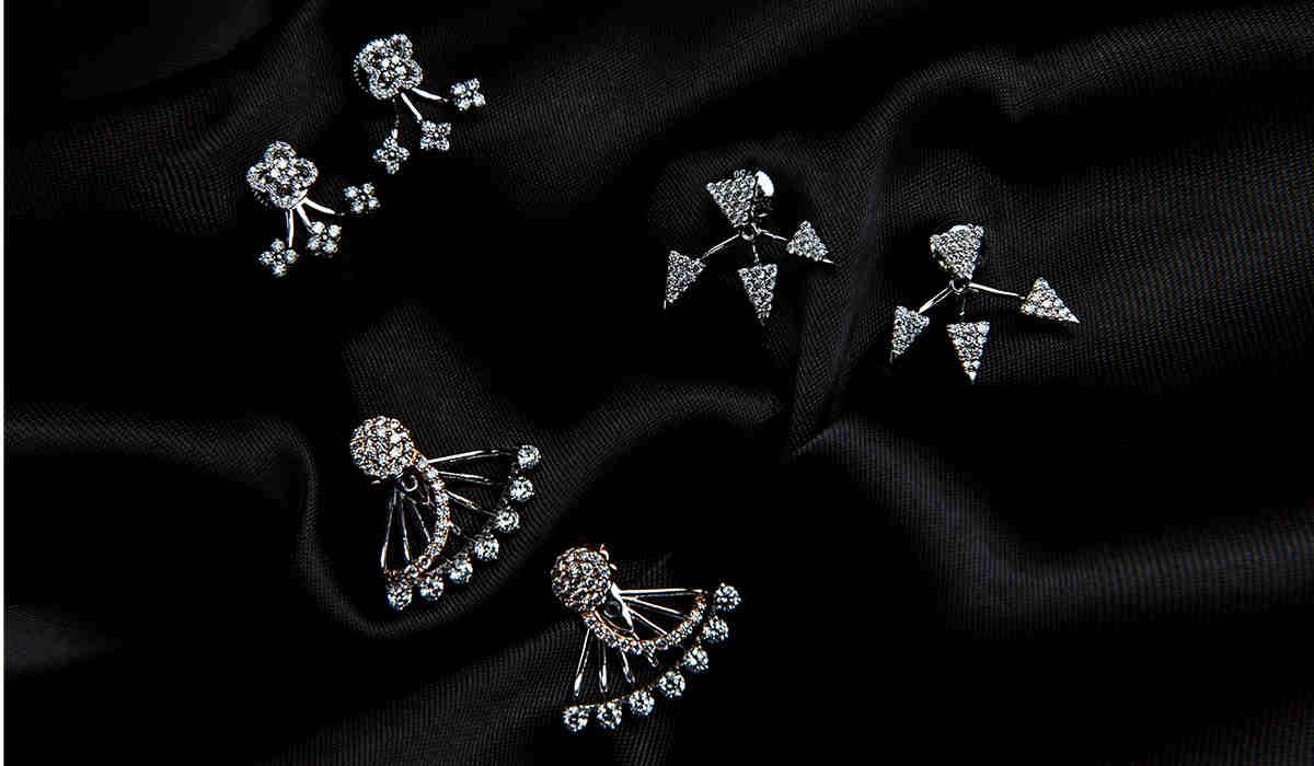 diamond stud earrings american swiss