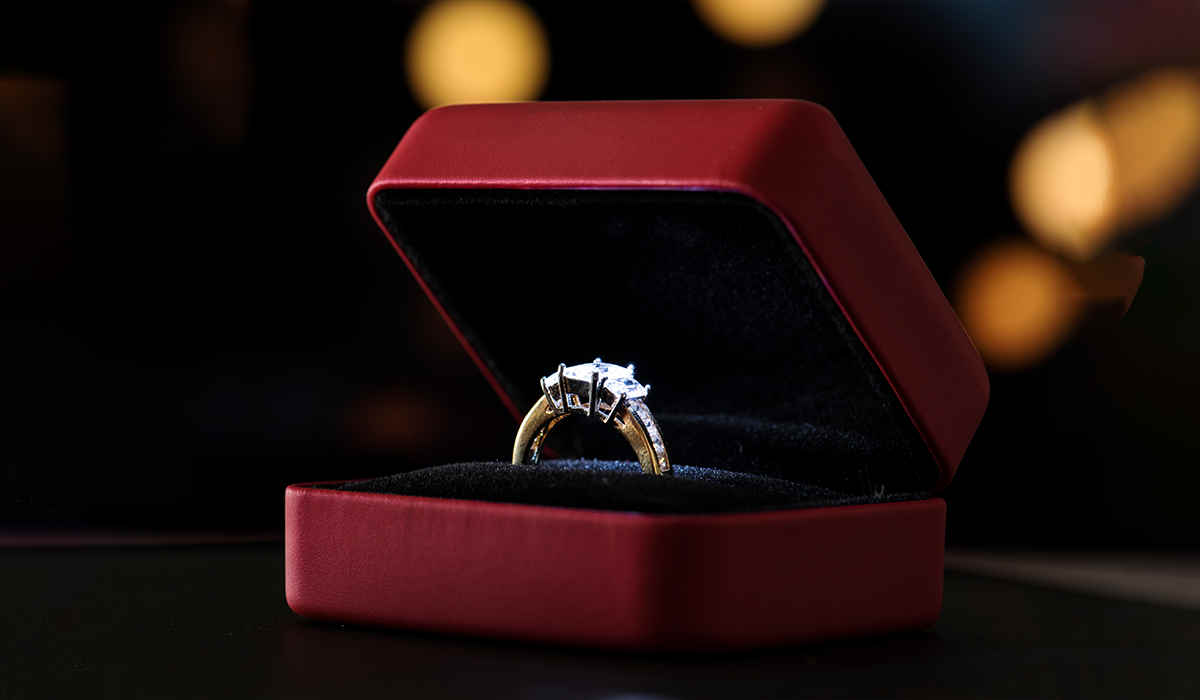 Where does an Eternity Ring Go